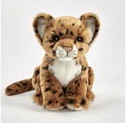 Hansa Knuffel Pluche Jaguar Welp