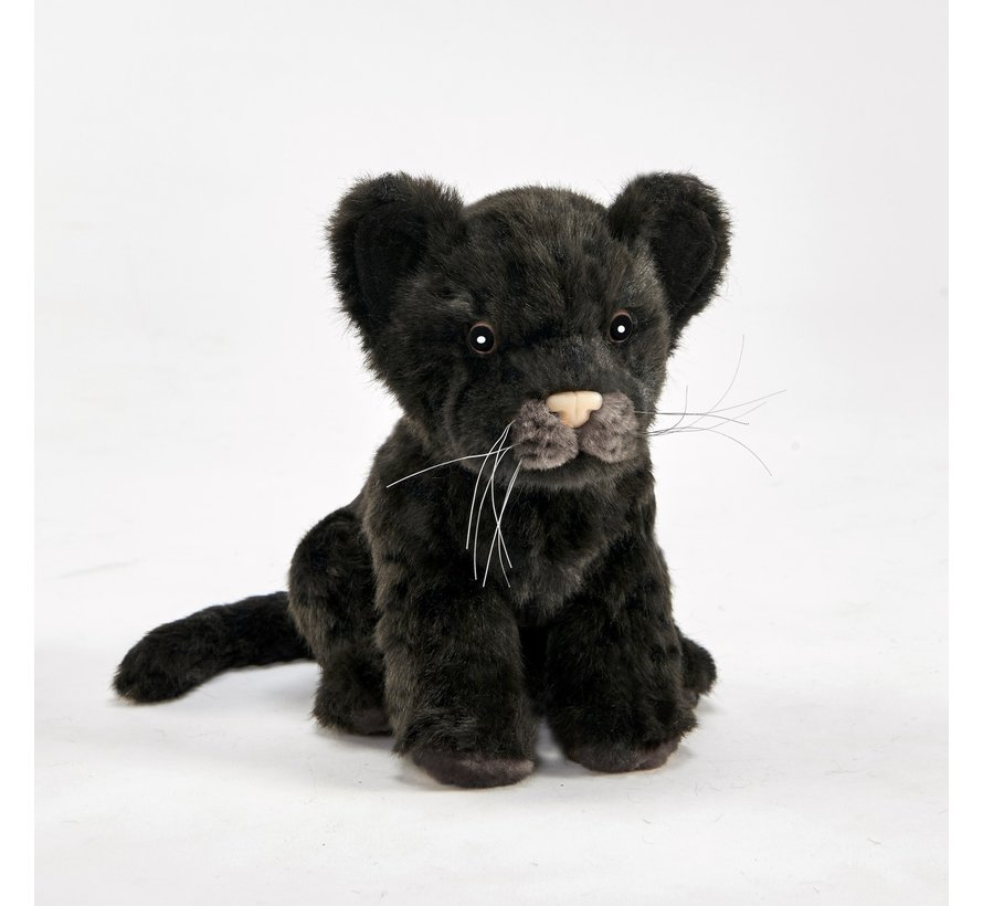 Knuffel Pluche Zwarte Jaguar Welp