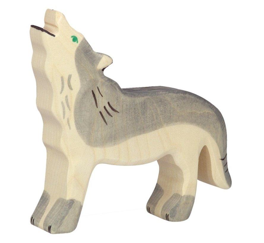 Wolf Kop Omhoog 80109