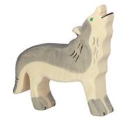Holztiger Wolf Kop Omhoog 80109