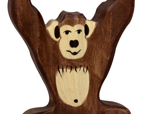 Holztiger Chimpansee 80169