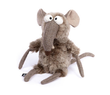 sigikid Knuffel Muis Quick & Dirty Mouse BeastsTown
