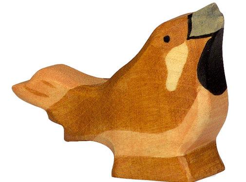 Holztiger Vogel Mus 80120