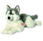 Knuffel Hond Husky Liggend