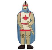 Holztiger Ridder Blauwe Mantel 80245