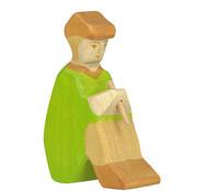 Holztiger Herder met Fluit III Kerst 80317