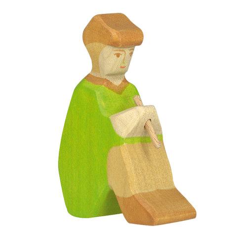 Holztiger Shepherd with Fife Christmas 80317
