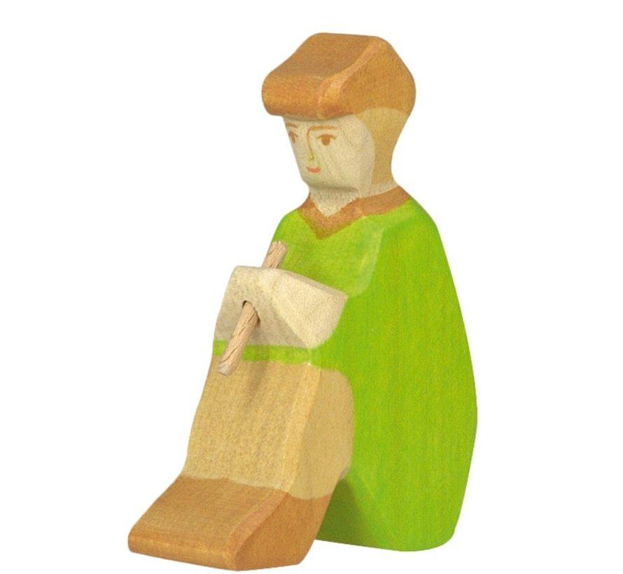 Shepherd with Fife Christmas 80317