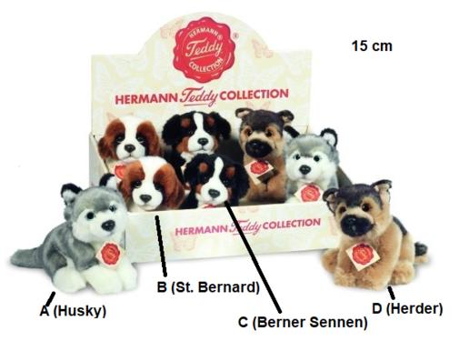 Hermann Teddy Knuffel Hond