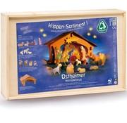 Ostheimer Nativity Scene I Complete Set 13-pcs 6020