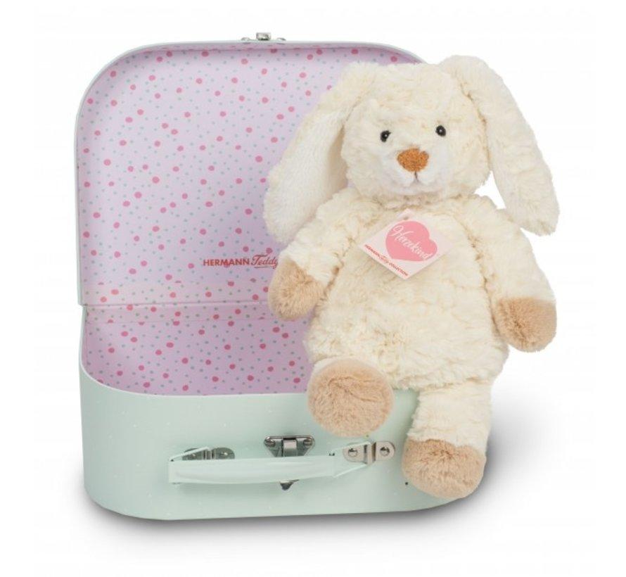 Stuffed Animal Rabbit in Suitcase