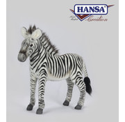 Hansa Knuffel Pluche Zebra