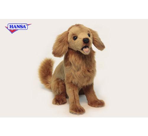 Hansa Knuffel Pluche Hond Golden Retriever