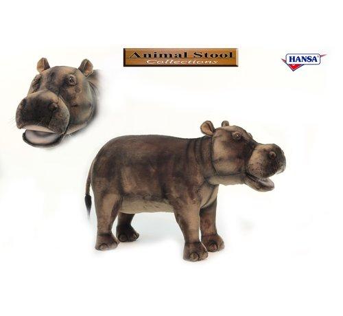 Hansa Knuffel Stoel Nijlpaard