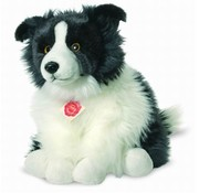 Hermann Teddy Knuffel Hond Border Collie