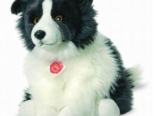 Hermann Teddy Knuffel Hond Border Collie