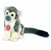 Hermann Teddy Stuffed Animal Monkey Gray