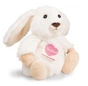 Hermann Teddy Stuffed Animal Rabbit Poppi White