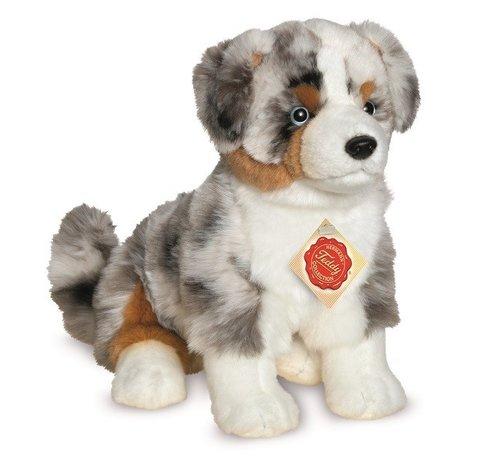 Hermann Teddy Knuffel Hond Australian Shepherd Pup