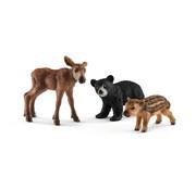 Schleich Forest animal babies 41457