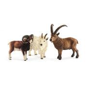 Schleich Mountain animals 41459