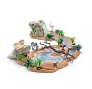 Schleich Speelset Groot Avontuur Wasplaats 42321