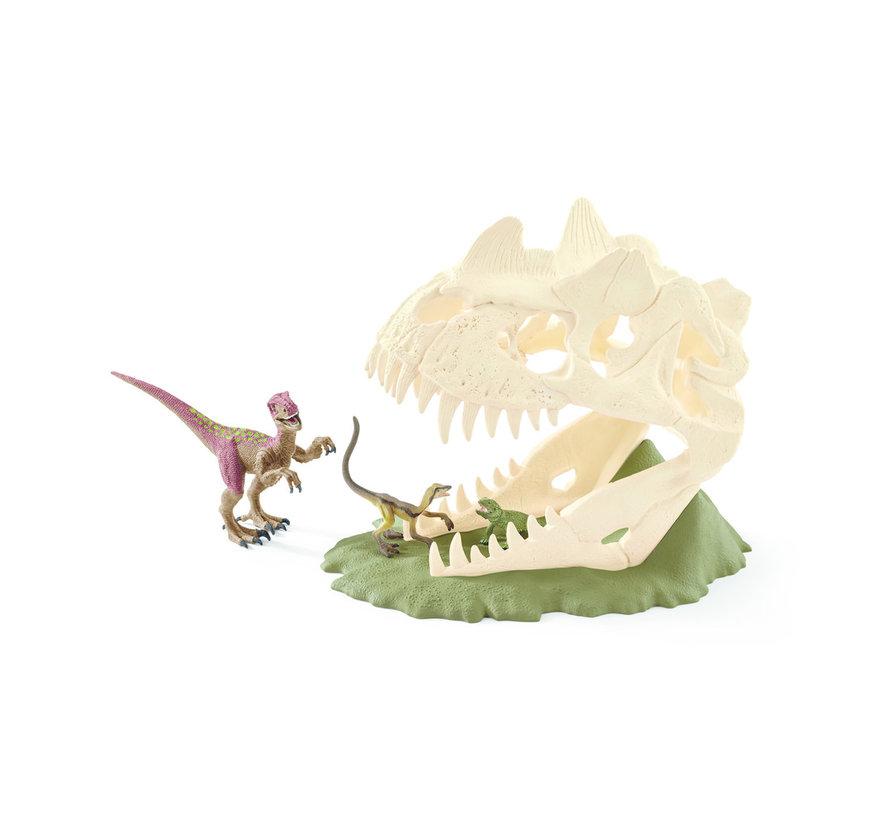 Grote Schedelvalstrik Met Velociraptor 42348