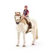 Schleich Amateur Ruiter Met Paard 42359