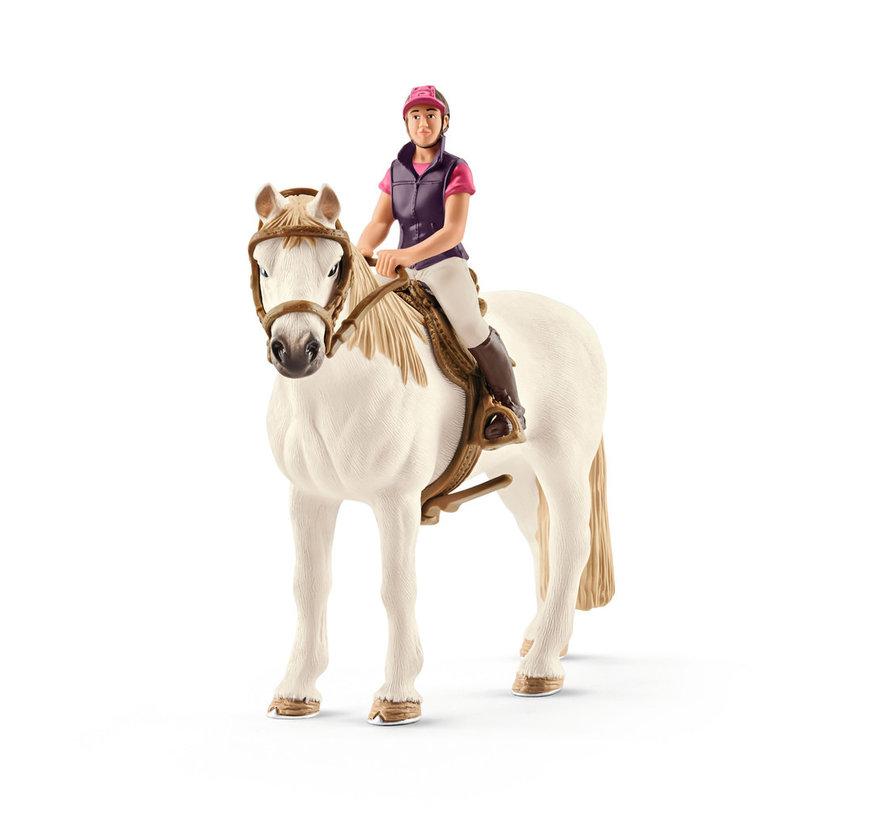Amateur Ruiter Met Paard 42359