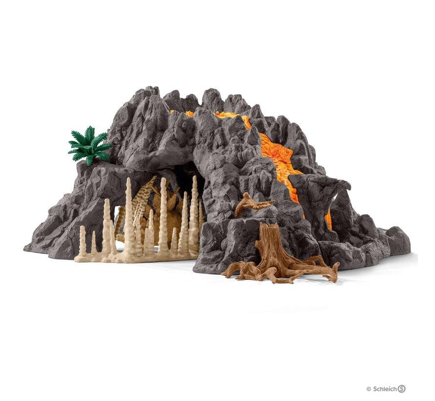 Speelset Reuze Vulkaan met T-Rex 42305