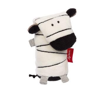 sigikid Grijpfiguur Zebra Squeaker Urban Baby