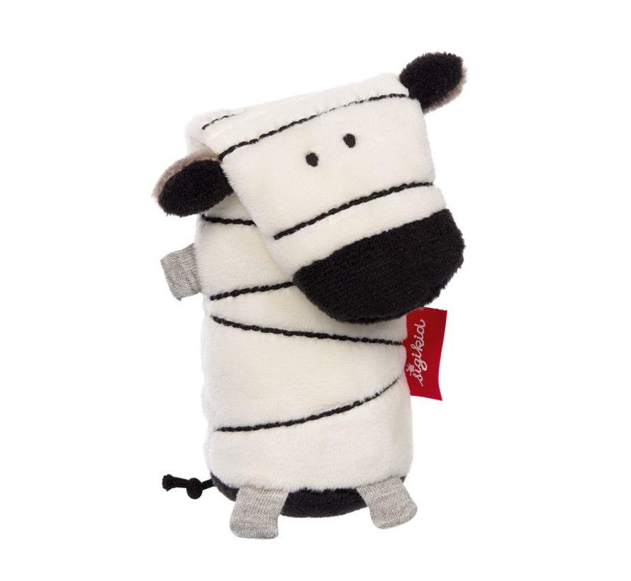 Grijpfiguur Zebra Squeaker Urban Baby