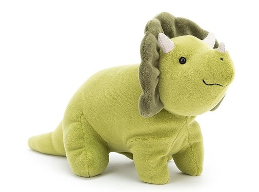 Jellycat Knuffel Triceratops Mellow Mallow