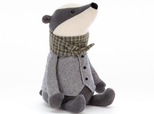 Jellycat Knuffel Das Riverside Ramblers Badger
