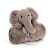 Jellycat Knuffeldoek Olifant Shooshu Elephant Soother