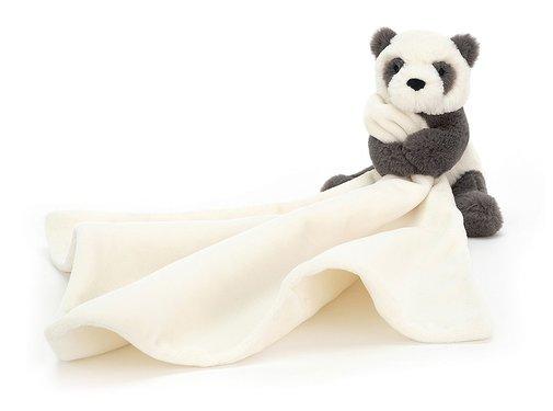 Jellycat Knuffeldoek Pandabeer Harry Panda Soother