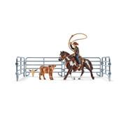Schleich Team roping with cowboy 41418