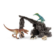 Schleich Dino set with cave 41461