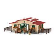 Schleich Speelset Paardenstal met Accessoires 42195