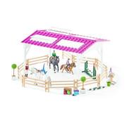 Schleich Speelset Ruiterschool Met Ruiter En Paarden 42389