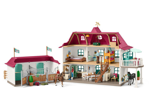 Schleich Large horse stable with house and stable 42416