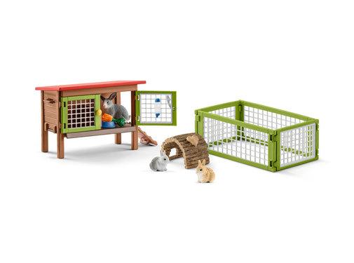 Schleich Rabbit hutch 42420