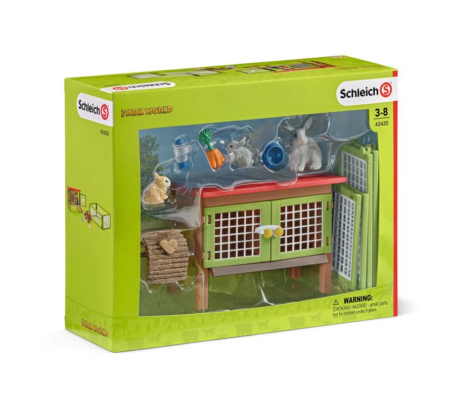 Rabbit hutch 42420