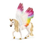 Schleich Winged rainbow unicorn 70576
