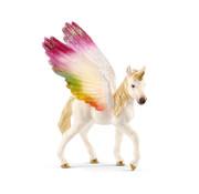 Schleich Winged rainbow unicorn foal 70577