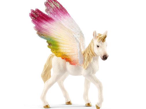 Schleich Unicorn Regenboogeenhoorn Veulen 70577