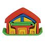 Poppenhuis Meubelhuis Rood/Blauw Hout