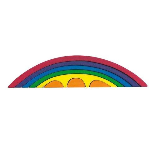 Glückskäfer Brug Regenboog Set 8-delig Hout