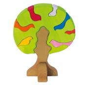Glückskäfer Vogelboom Bonte Lichte Kleuren 9-delig Hout