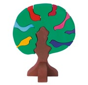 Glückskäfer Vogelboom Bonte Donkere Kleuren 9-delig Hout